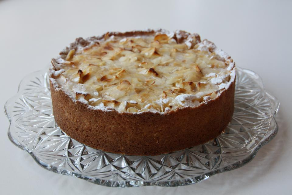 Appel-speculaasflan